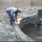 AquapHina Construction  Phase 11 Install Coping